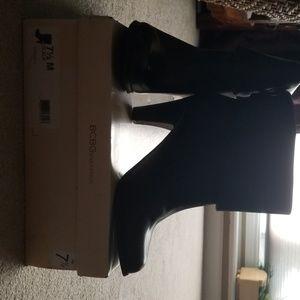 BCBGeneration Black Ankle Boots